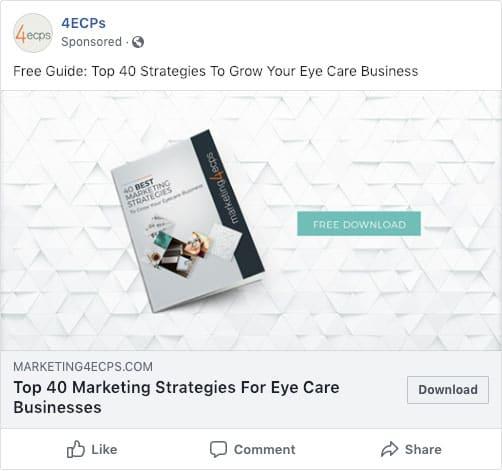 4ECPs Facebook Ad